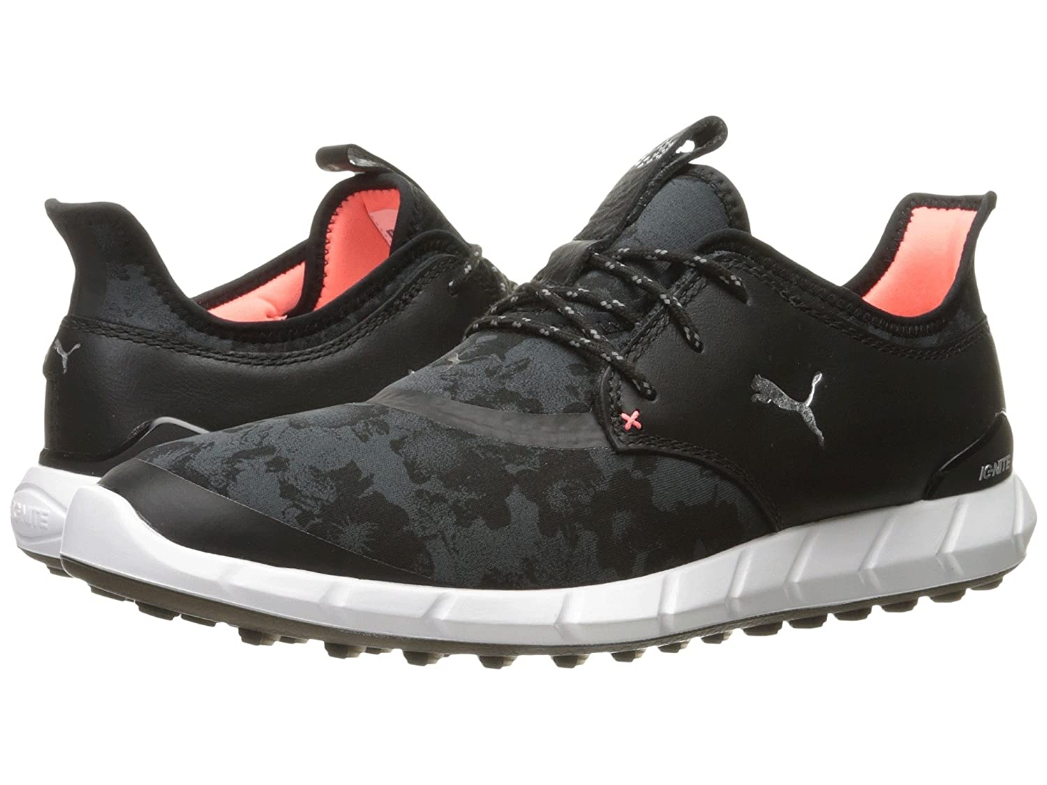 プーマ シューズ スニーカー Ignite Spikeless Sport Floral Black/Silv [並行輸入品]   B074CV4K51