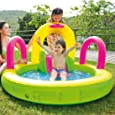 Jilong 97207 Piscina Multigioco Spray Sliding Pool, Multicolore