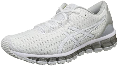 36a69b670 ASICS Women s Gel-Quantum 360 Shift White White Silver Running Shoes ...