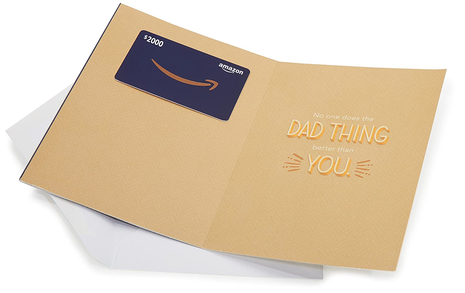 Amazon Amazon 2000 Gift Card In A Premium Greeting Card By