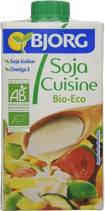 Bjorg Crema para Cocinar de Soja - Paquete de 24 x 250 ml - Total: 6000 ml: Amazon.es: Alimentación y bebidas