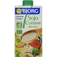 Bjorg Crema para Cocinar de Soja - Paquete de 24 x 250 ml - Total: 6000 ml