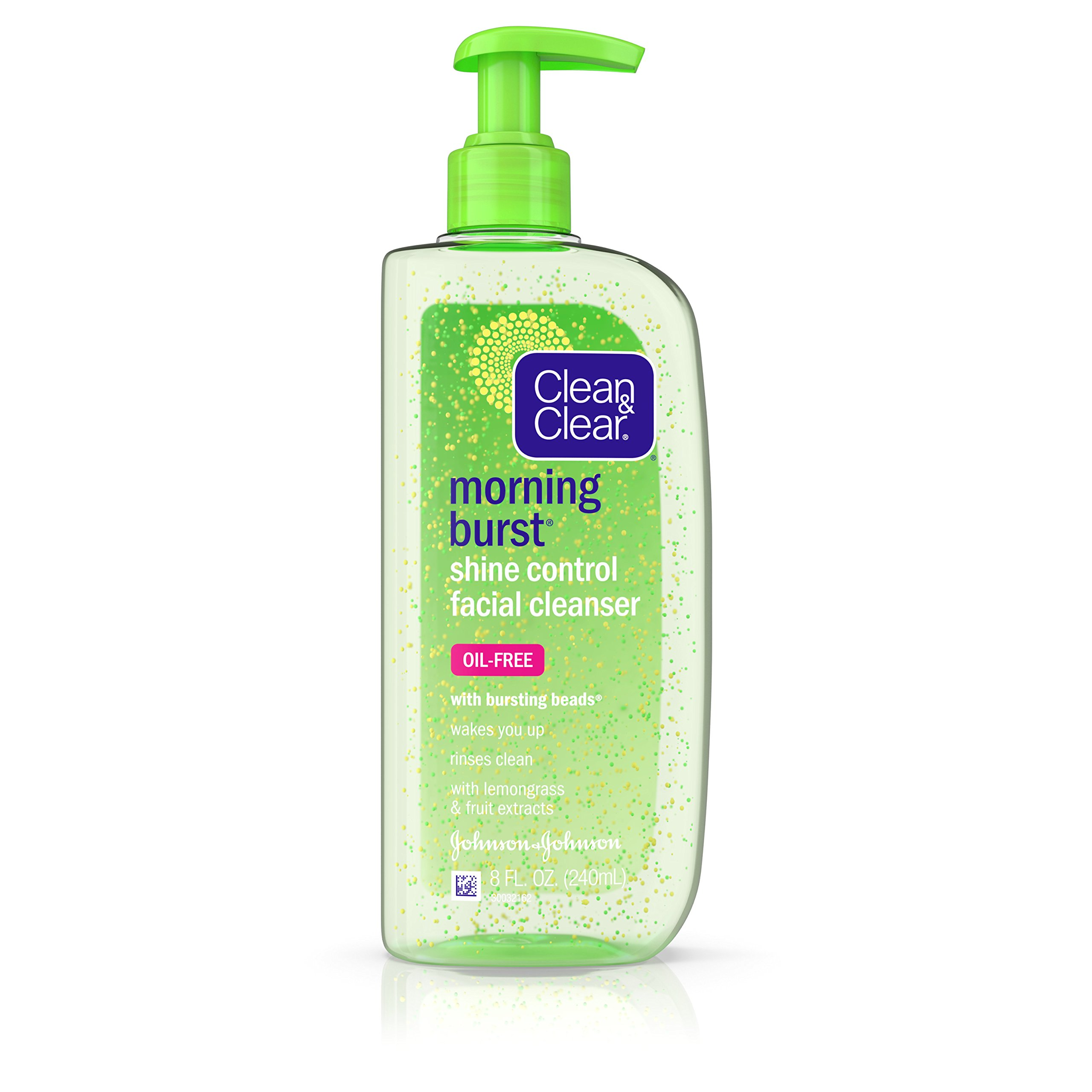 Clean & Clear Morning Burst Shine Control Facial Cleanser, 8 Oz.