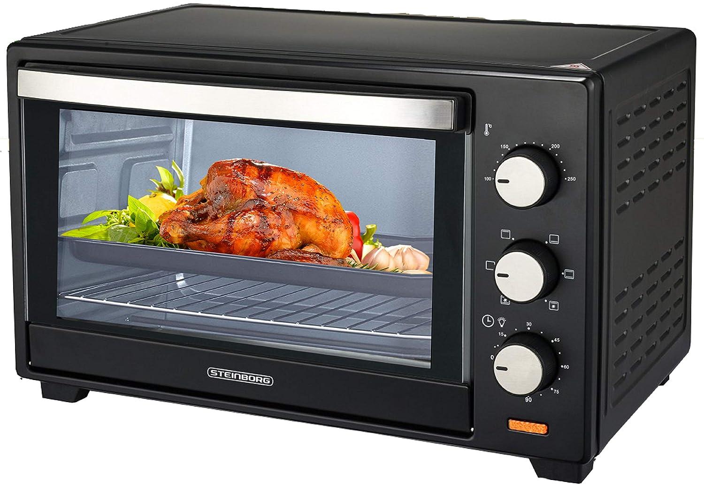 Minihorno de 60 litros de convección, horno de pizza, horno con ...