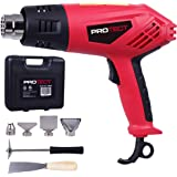 ProTect 1500W Dual Temperature 9-Piece 2-Speed Heat Gun Kit in Carry Case