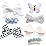 California Tot Non-Slip Fully Lined Alligator Clip Hair Accessories for Fine Hair, Little Girls, Toddlers
