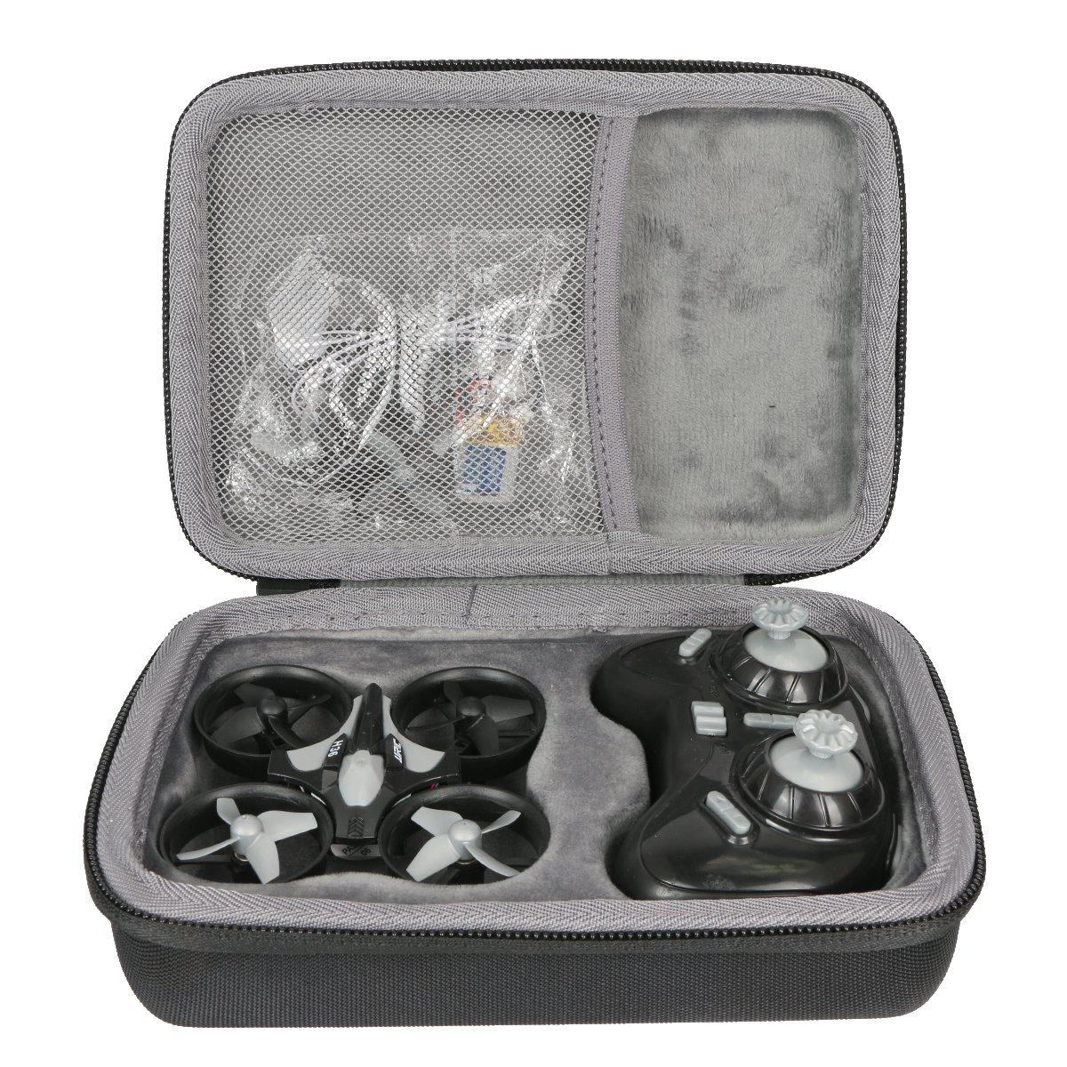 co2crea Hard Travel Case for EACHINE E010 Mini Quadcopter 2.4GHz 6-Axis Gyro Remote Control Nano Drone by Co2Crea (Image #1)