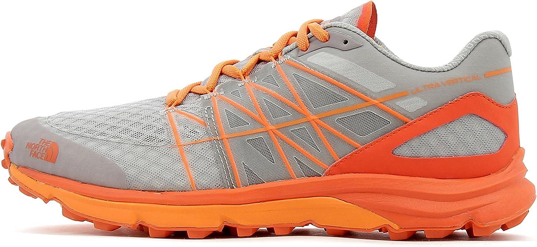 The North Face Zapatillas de running Ultra Vertical para hombre, Color: FOILGY/EXBRCORG, Talla: 42 EU (9 US / 8 UK): Amazon.es: Deportes y aire libre