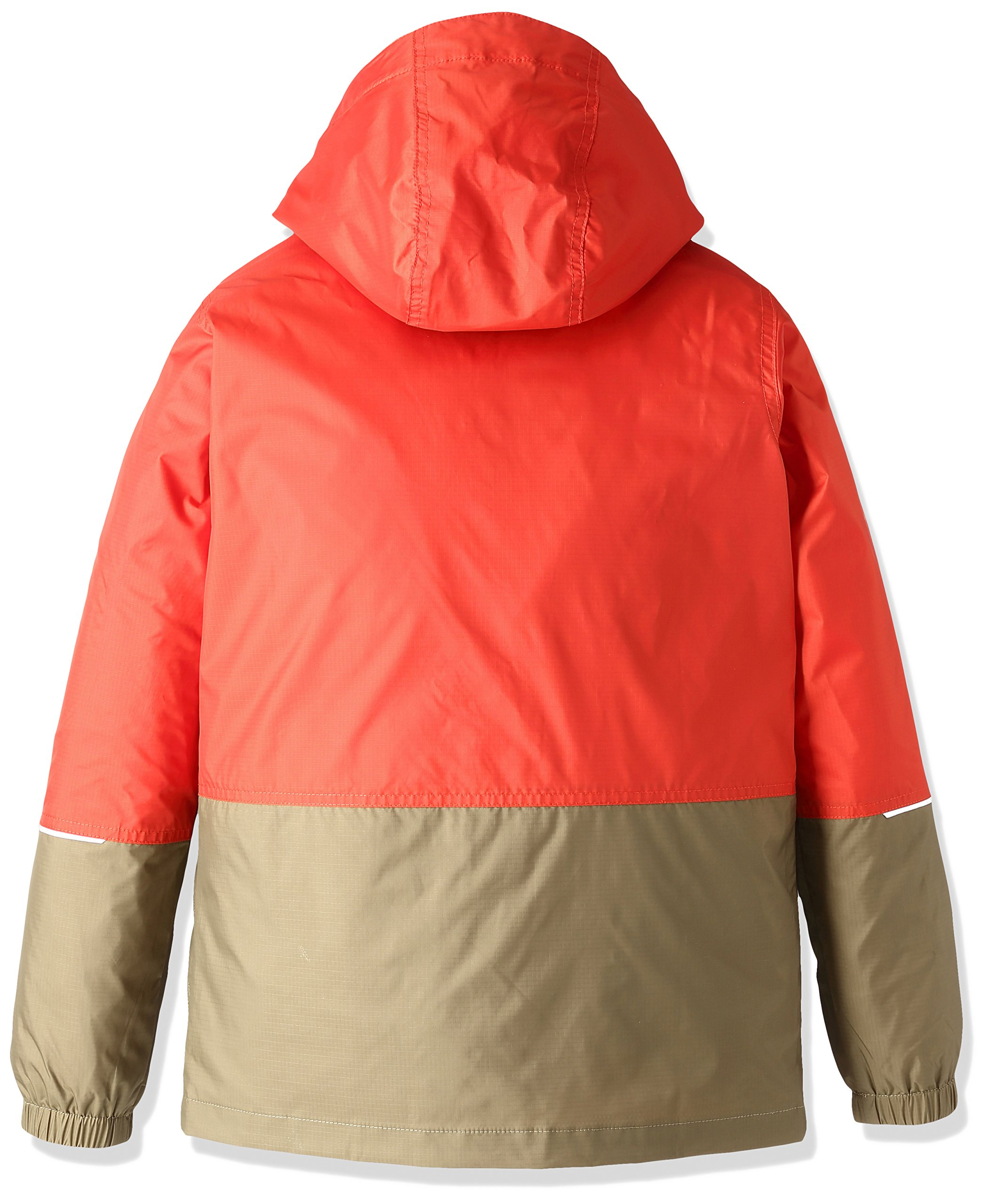 Columbia Big Boys' Hot On The Trail Rain Jacket, Super Sonic/Delta, Small by Columbia (Image #2)