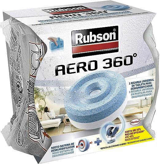 Rubson Recambios para deshumificador Aero 360 color azul
