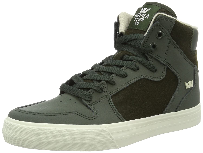 Supra Vaider LC Sneaker B01EICV5NQ 10 D(M) US|Dark Olive White