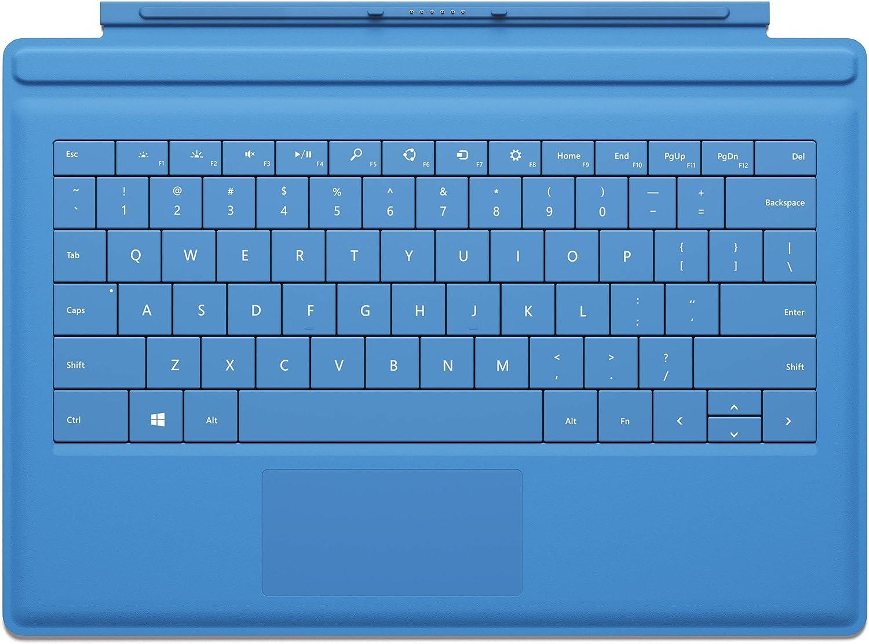 Microsoft Clavier Touch Cover pour tablette Surface Bleu