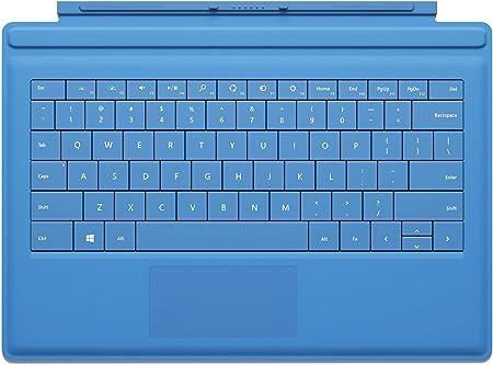 Microsoft Touch Cover 2 - Teclado para tablet Microsoft Surface Pro, azul [Importado]