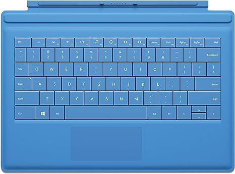 OEM Microsoft Surface 2 Pro RT Type Cover 2 Keyboard Model 1561 Cyan Blue Gr A