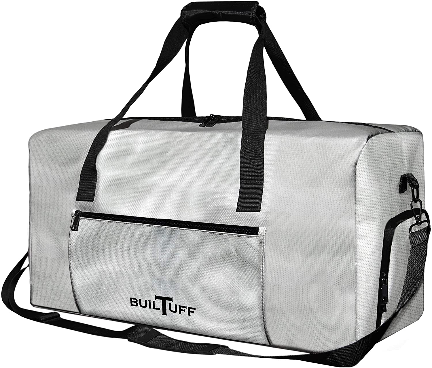 Fireproof and Waterproof Duffel Bag, Extra Large Fireproof Bag for Valuables, Fireproof Safe Storage Bag (Grey)