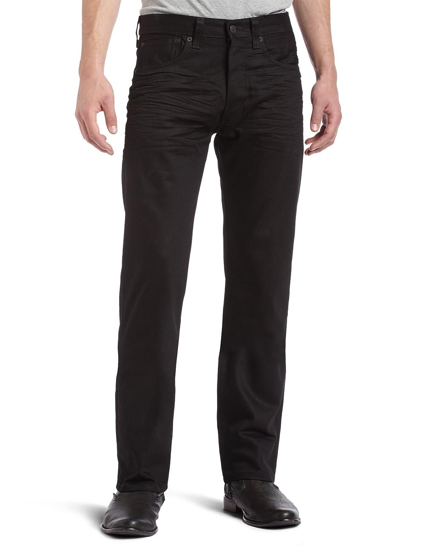リーバイス501オリジナルフィットジーンズ、ブルー B01CH71D3G 40W x 34L|Polished Black Polished Black 40W x 34L