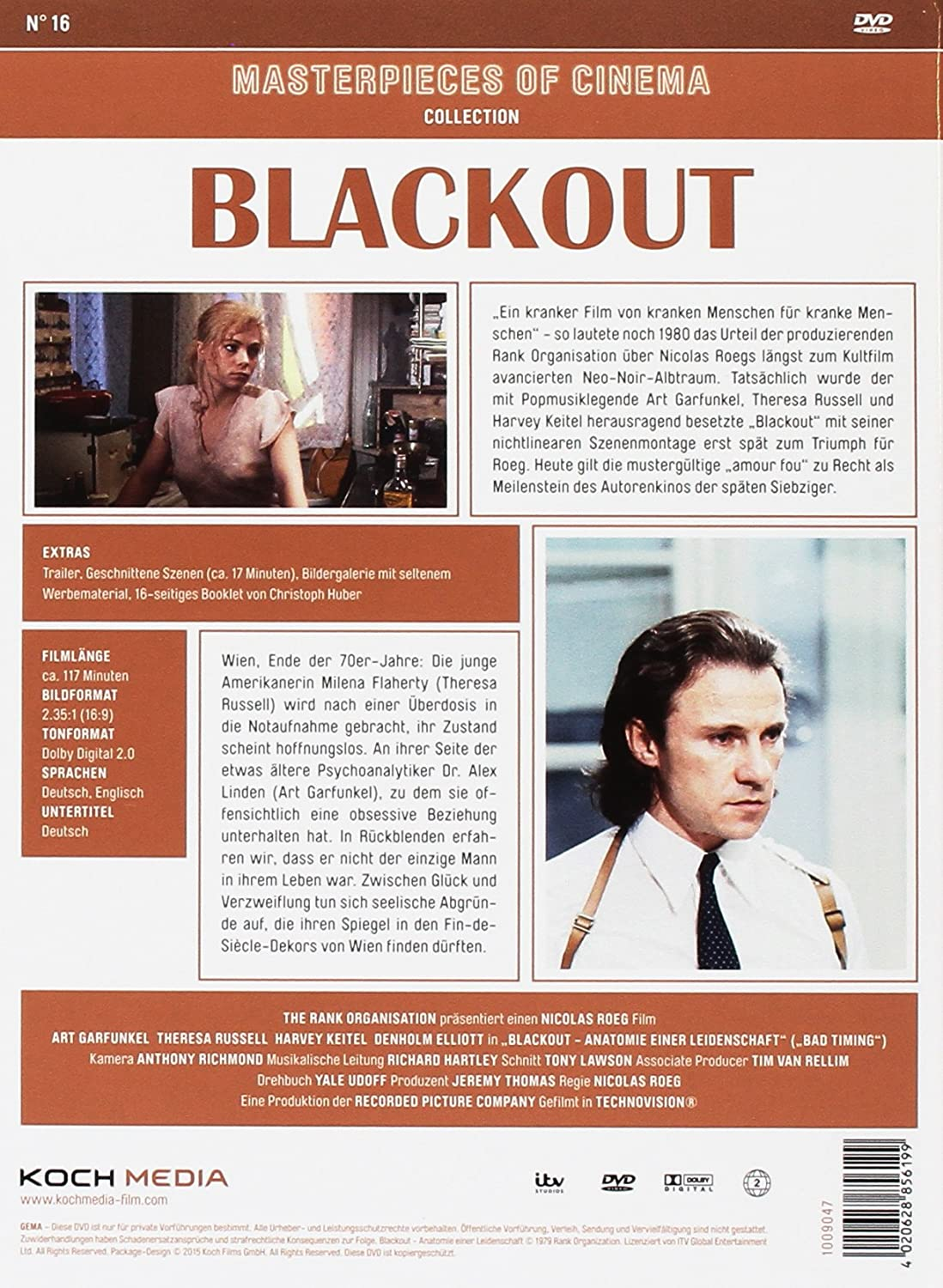 Blackout - Anatomie einer Leidenschaft, 1 DVD: Amazon.co.uk: DVD ...