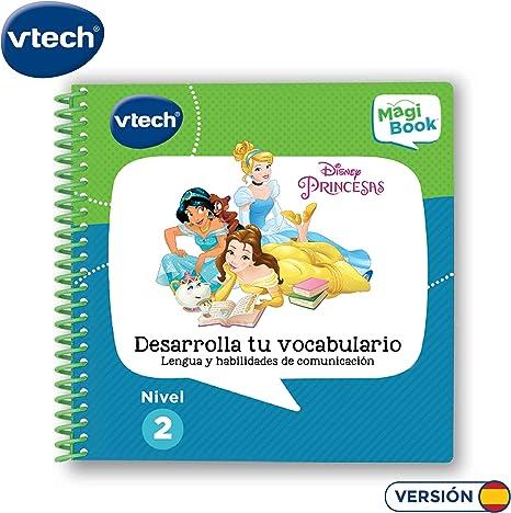VTech - Libro Princesas Disney, desarrolla tu vocabulario (3480 ...