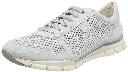 Geox D Sukie F, Chaussures Femme, Brun (taupe Lt), 41 Eu