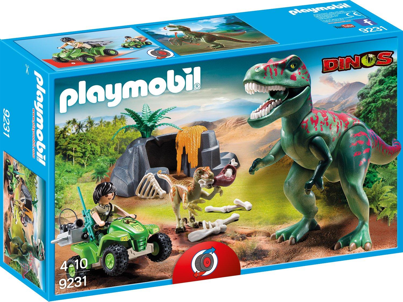 Playmobil 9231 - T-Rex Angriff de toys GEOVR