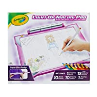 Crayola Light Up Tracing Pad Pink, AMZ Exclusive, At Home Kids Toys, Gift for Girls...