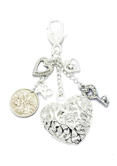 67b505ff3 Happy 18th Birthday Lucky Sixpence Keepsake Gift: Amazon.co.uk: Baby