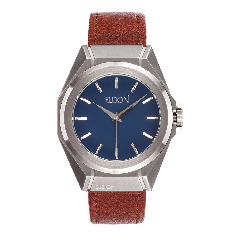 Minimalistische Ocean Herren Armbanduhr austauschbar – Eldon (Uhren