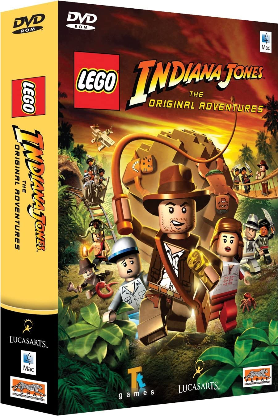 amazon com lego indiana jones mac pc video games