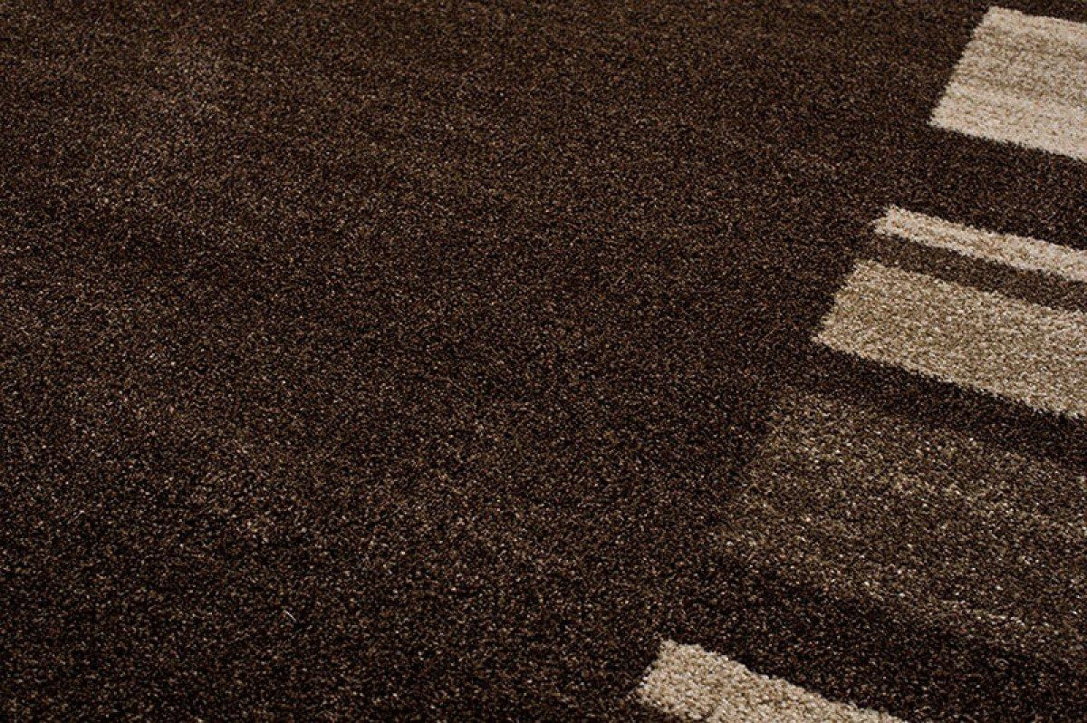 Tapiso Sari Teppich Teppich Teppich Kurzflor   Modern Teppiche in Designer Braun Dunkelbraun Beige mit Abstrakt Streifen Linien Muster   Perfekt für Wohnzimmer, Gästezimmer, Esszimmer   ÖKOTEX 160 x 220 cm B07CYXJ7ZH Teppiche e108fa