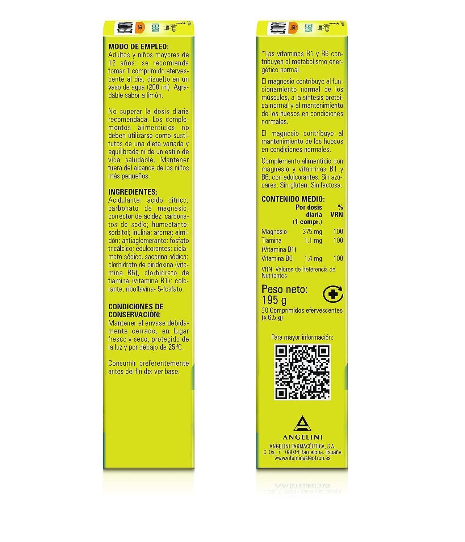 Leotron Magnesio - 30 Comprimidos: Amazon.es: Salud y ...