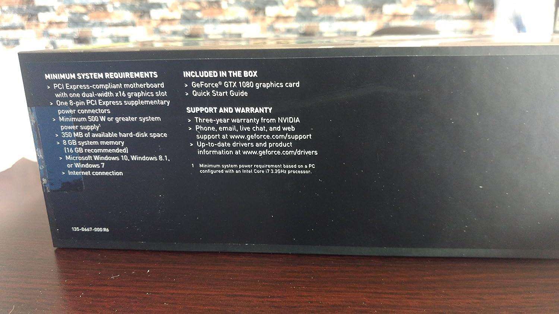 NVIDIA GeForce GTX 1080 Founders Edition by Nividia