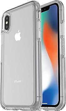 OtterBox Symmetry Clear Funda protecci/ón transparente para iPhone X//Xs