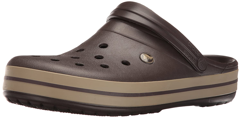 Crocs Unisex Crocband Clog B07DYGC24K 43-44 M EU / 12 B(M) US Women / 10 D(M) US Men|Espresso/Khaki