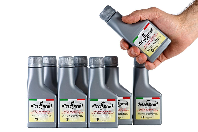 1 LITRO (8 flaconi da 125 ml) DIESELSPRINT Additivo multifunzione per motori Diesel Lubrificanti Speciali s.a.s