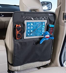 High Road Backseat Organizer and Seat Back Protector with Car Tablet Holder