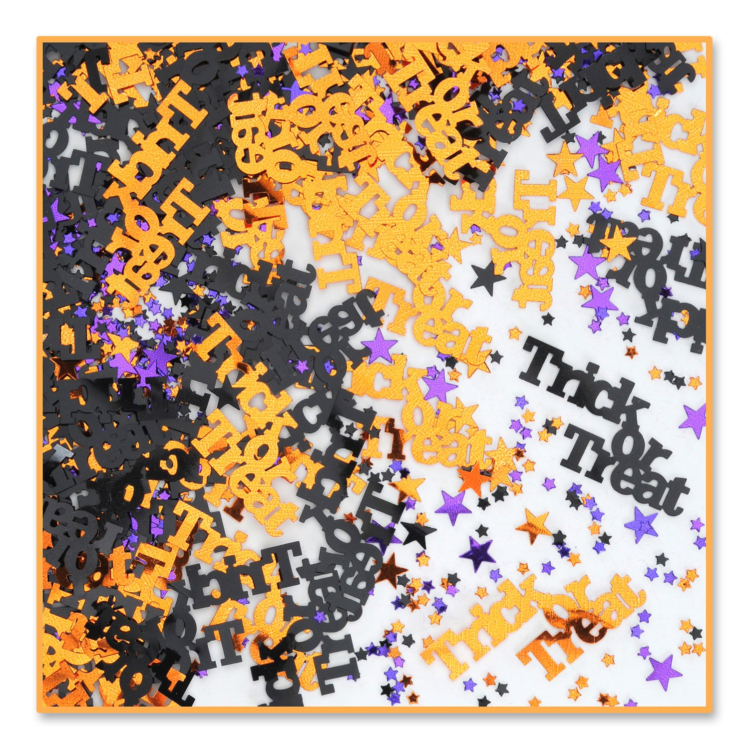 Trick Or Treat Confetti (Pack of 96) by Beistle