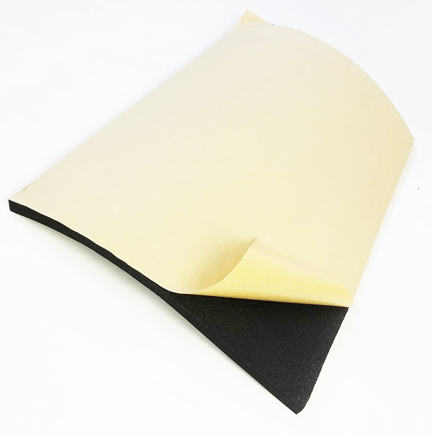 8 Sheets Camper Van Insulation Soundproofing Thermal Acoustic Foam 10mm Cheap
