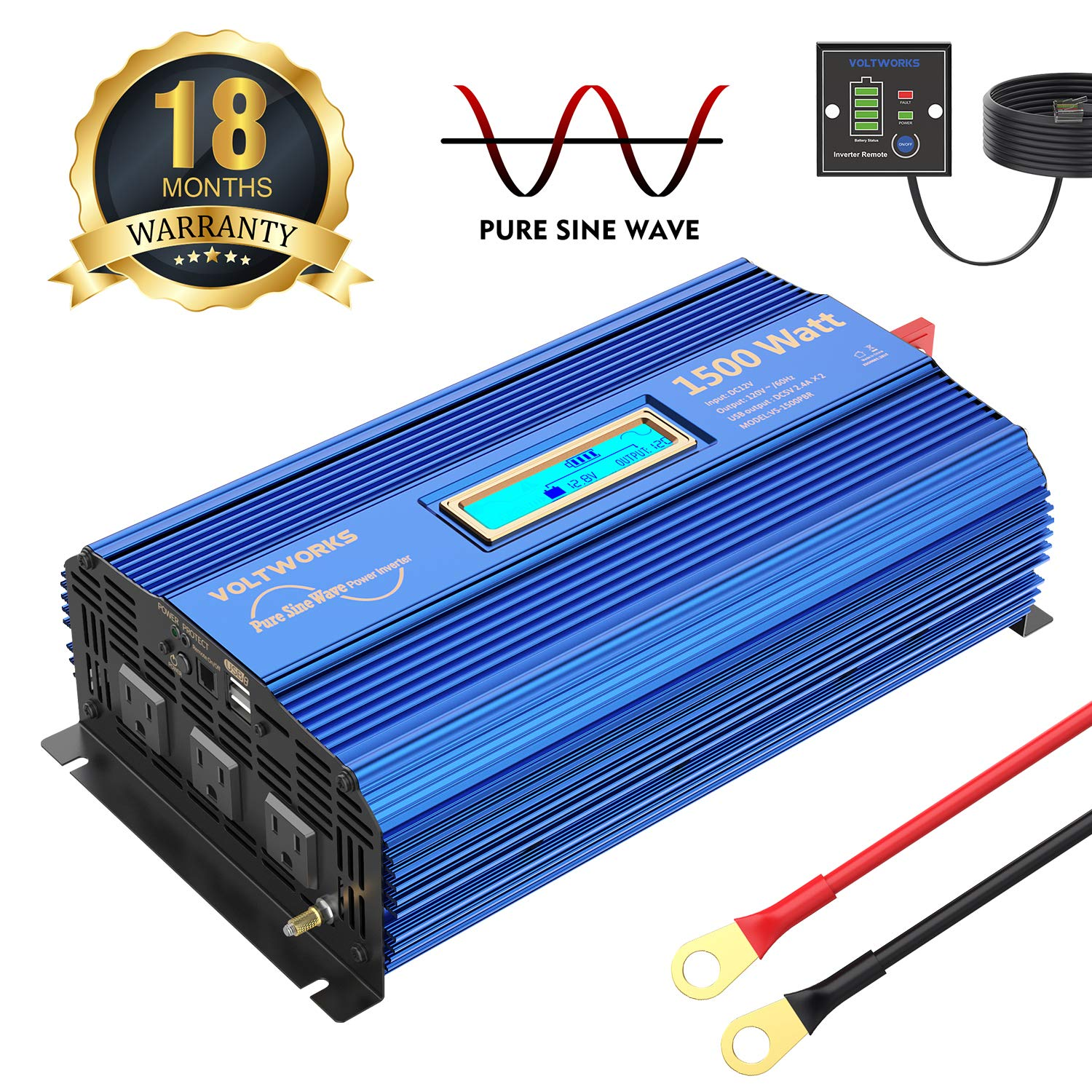 5 Best Power Inverter For Home 2021 [In-Depth Review] 3