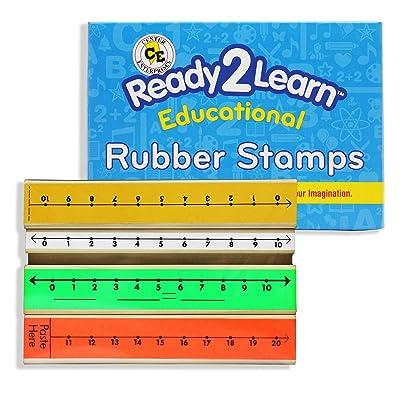 """Center Enterprise CE913 """"NUMBER LINE"""" Stamp: Toys & Games"""