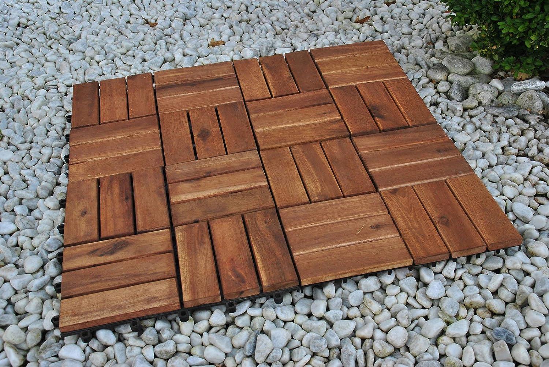 SAM® Terrassenfliese 02 aus Akazien-Holz, FSC® 100 % zertifiziert ...