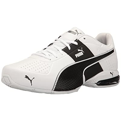 PUMA Men's Cell Surin 2.0 FM Sneaker, White Black, 7 M US | Shoes