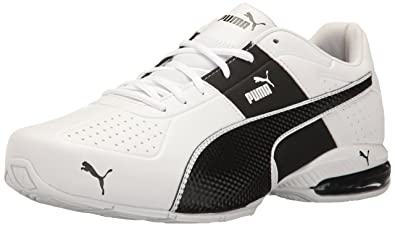 PUMA Mens Cell Surin 2 FM Sneaker, White-Black, ...
