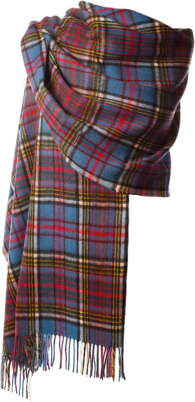 Edinburgh 100/% in lana Tartan Scozzese pinzhi Stole