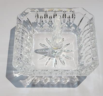Amazon Oleg Cassini Crystal Ringholder Square Home Kitchen