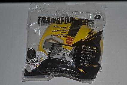 mcdonalds 2016 transformer #2 BumbleBee mask