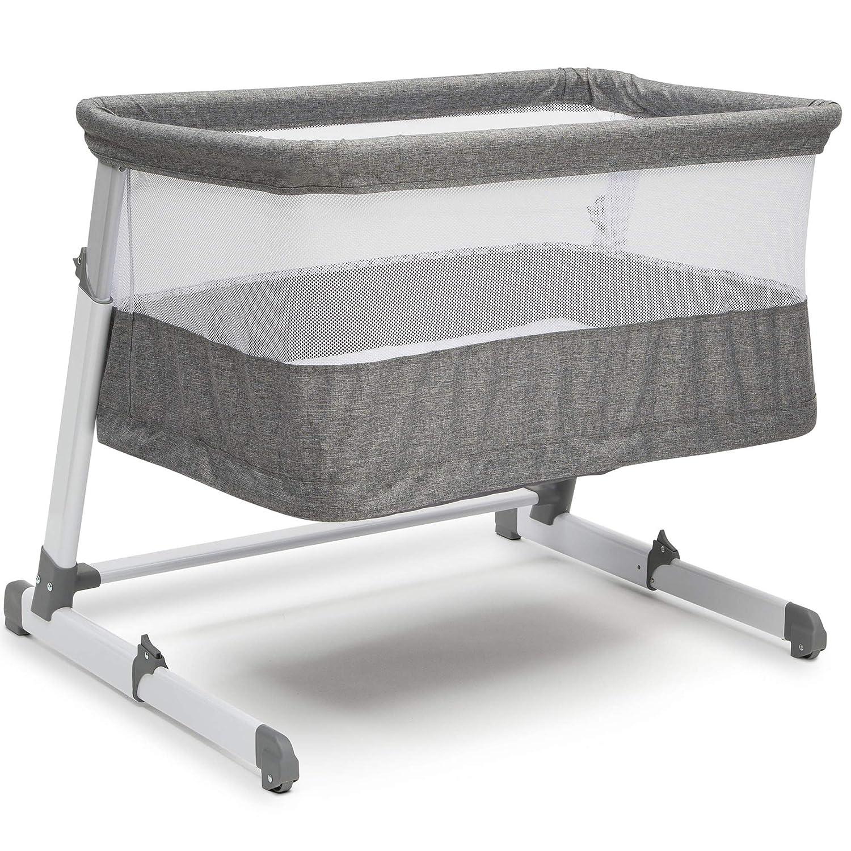 Simmons Kids Room2Grow Newborn Bassinet to Infant Sleeper, Grey Tweed Delta Enterprise Corp - PLA 25502-2012