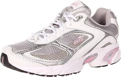 Avia A5020 - Zapatillas de running de sintético para mujer White/Grey/Light Pink, color blanco, talla 38.5: Amazon.es: Zapatos y complementos