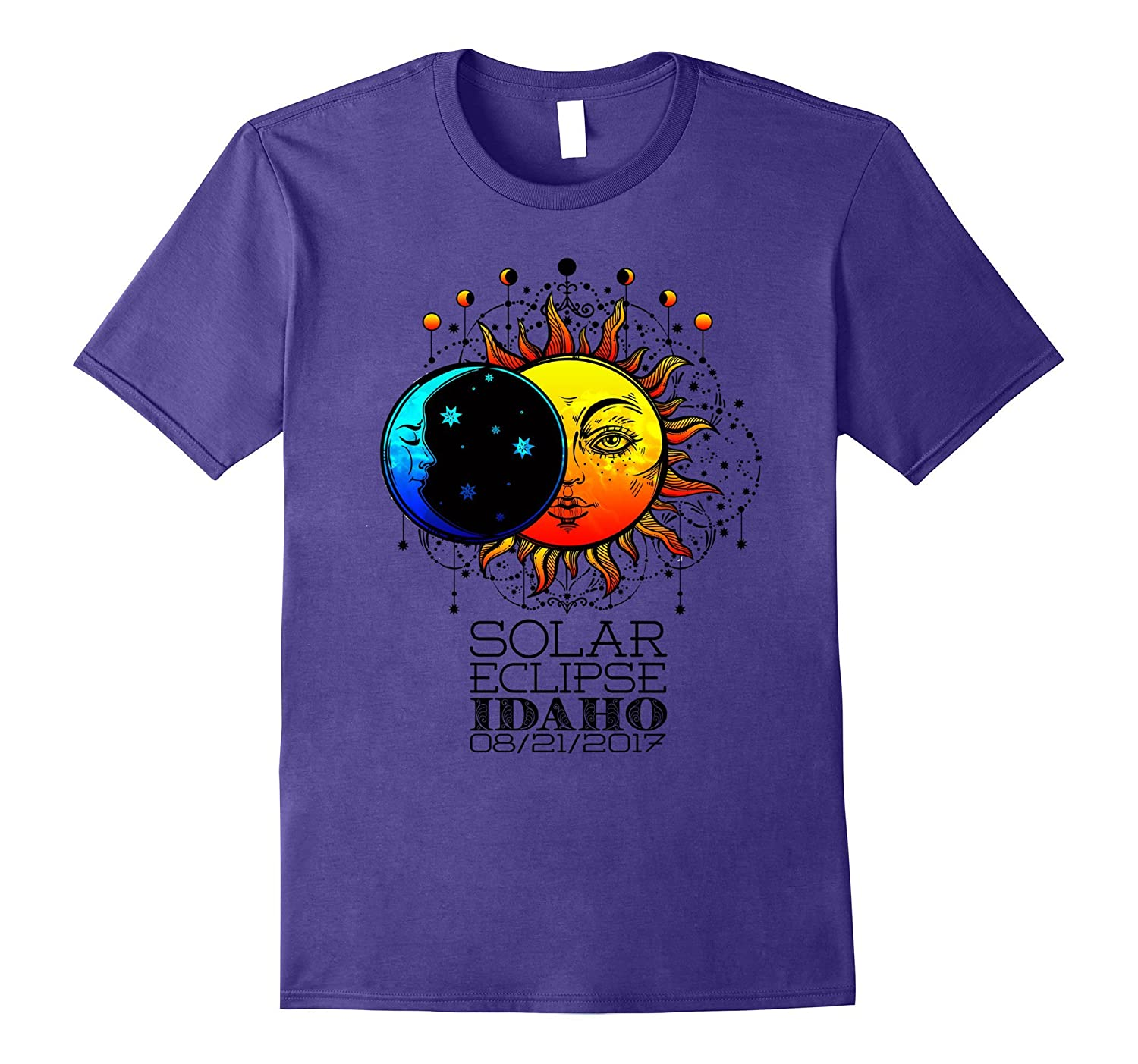 Total Solar Eclipse Idaho Tshirt 08/21/2017-Art