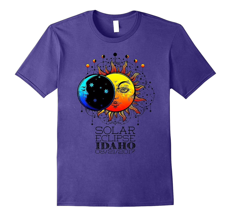 Total Solar Eclipse Idaho Tshirt 08/21/2017-Art