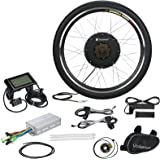 "Voilamart 48V 1000W Electric Bicycle Conversion Kit, 26"" Rear Wheel E-bike Kit with LCD Display and Intelligent Controller"
